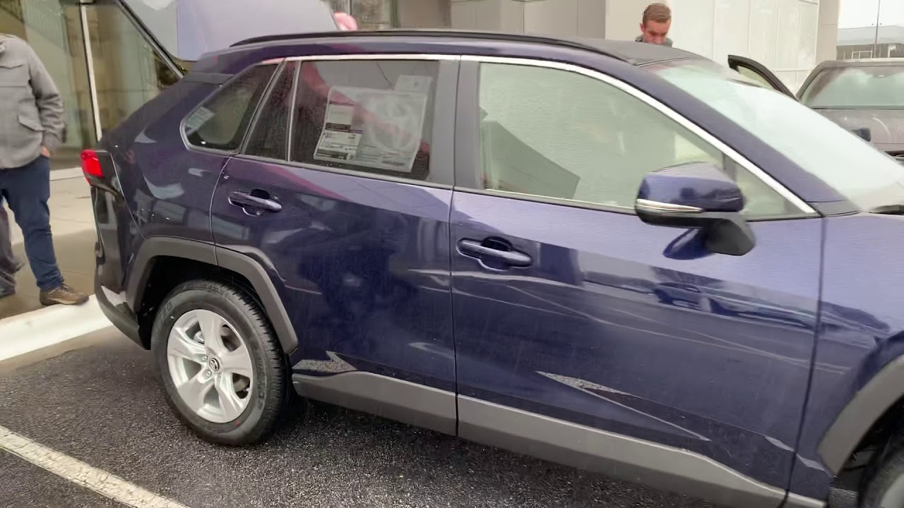 Just Arrived 2019 Toyota Rav4 Xle Blueprint