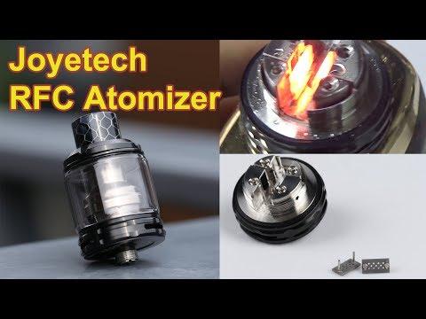 Joyetech RFC Atomize | 1 Million Puffs, Near-Infinity Life Span | Safe heating element made in USA