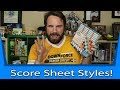 What Style Score Sheets Do You Like? (Meta Game Minute)