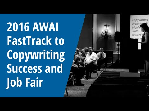 2016 AWAI FastTrack to Copywriting Success Job Fair