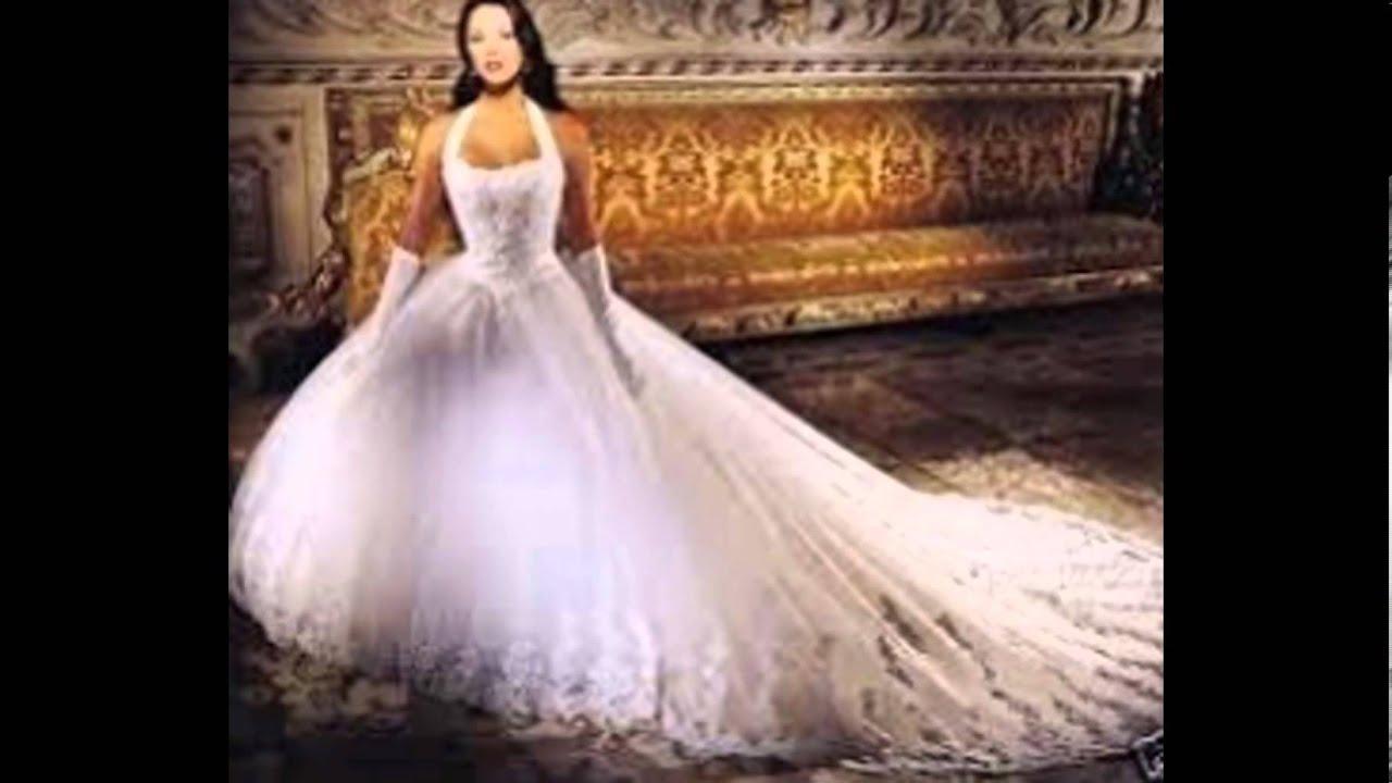 les plus belles robes de mariée et les plus beaux caftans marocains *___* - YouTube