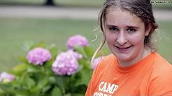 Teenage girl enjoys summer camp for military kids