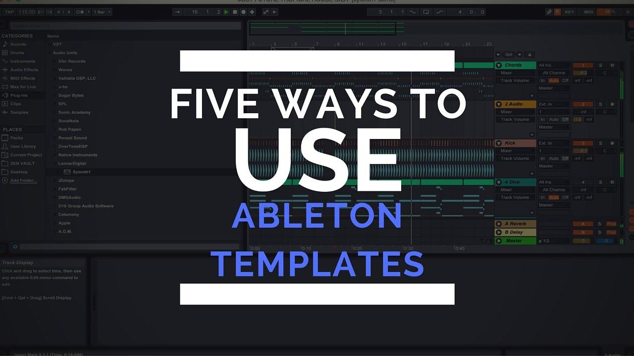 ableton templates free