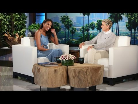 'Pitch' Star Kylie Bunbury Meets Ellen