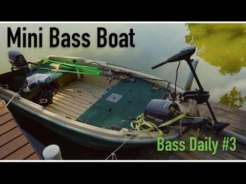 Mini Bass Boat + Tackle + NEW Lures -- Bass Daily # 3