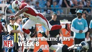 Top 5 Most Athletic Plays (Week 8) | NFL Now