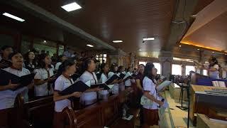 Lagu Kutemukan Cinta oleh Paduan Suara ESVEDE Junior Choir