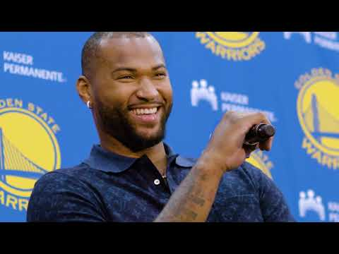 Warriors All-Access: DeMarcus Cousins' Bay Area Arrival