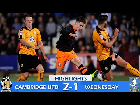 Cambridge United 2 Sheffield Wednesday 1 | Extended highlights EFL Cup | 2016/17