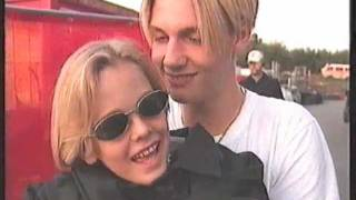 Nick Carter - Stars Aktuell 1997 - Nick and Aaron backstage & onstage
