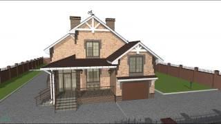 Типовой проект одноэтажного  жилого дома с мансардой и  гаражом для большой семьи  E-061-ТП(, 2016-10-24T09:12:16.000Z)