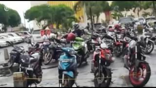 Gempa! Pengunjung Mall Manado Berlarian