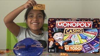 Monopoly Casino - el mejor juego de Hasbro para divertirse en Familia - Camila Tv