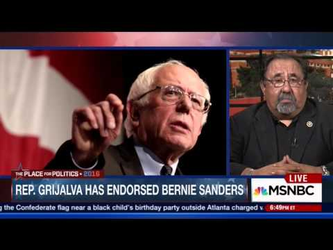 Raul Grijalva Joins Steve Kornacki in Advance of the First 2016 Democratic Primary