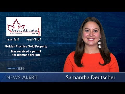 Great Atlantic Resources (TSXV:GR) Received a permit for diamond drilling