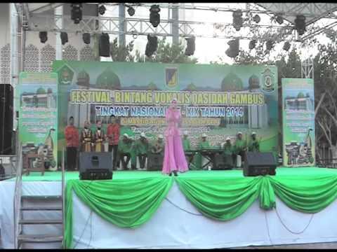 LASQI - JUARA 5 REMAJA PUTRI FESTIVAL BINTANG VOKALIS QASIDAH GAMBUS NASIONAL XIX 2014 PALU SULTENG
