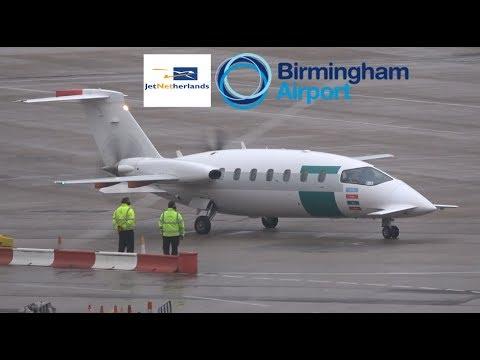 JetNetherlands Flight PHTCN (Rotterdam to BHX)