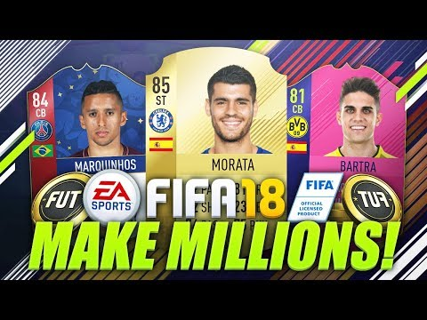 BEST WAY TO MAKE COINS ON FIFA 18! 😱