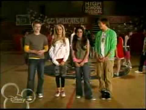 High School Musical Dance Along - Get'Cha Head In The Game