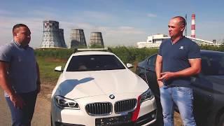 Тест драйв BMW 5 серии.  Ошибки инженеров BMW.