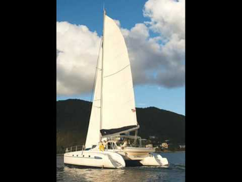 Charter catamaran Bahia 46 in Greece.wmv