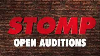 Stomp Open auditions