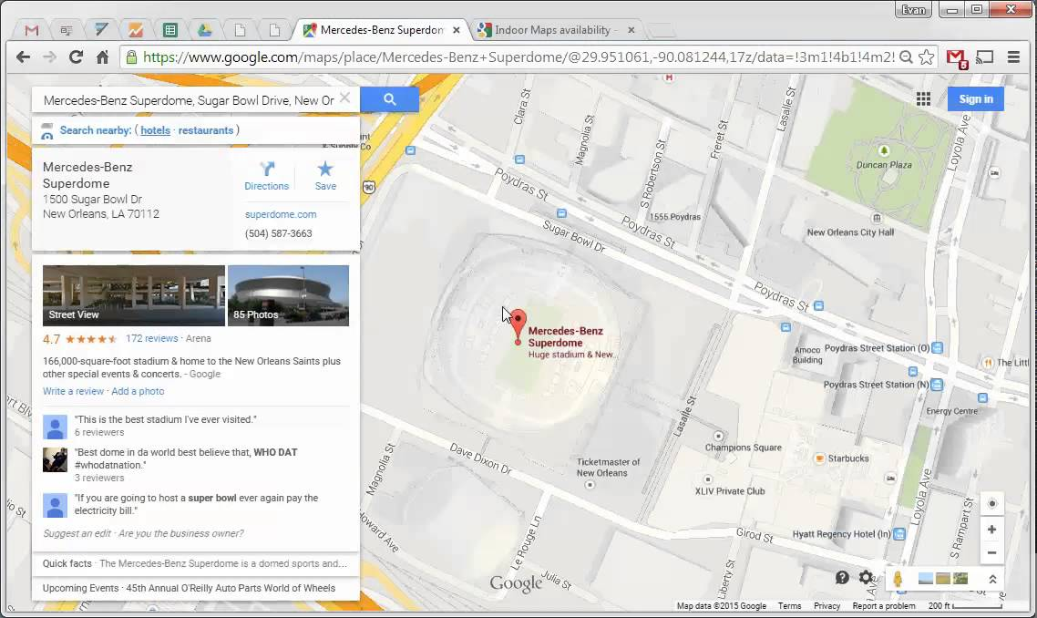 Google Maps Tips 15 How To Access Indoor Maps Youtube