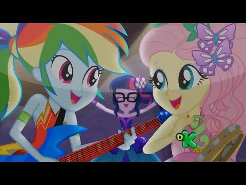 """MLP: Equestria Girls - Legend of Everfree SONG - """"Legend You Were Meant To Be"""""""