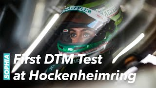SOPHIA FLOERSCH | First official test days in Hockenheim with my AUDI R8 LMS GT3 | DTM | ABT | 2021