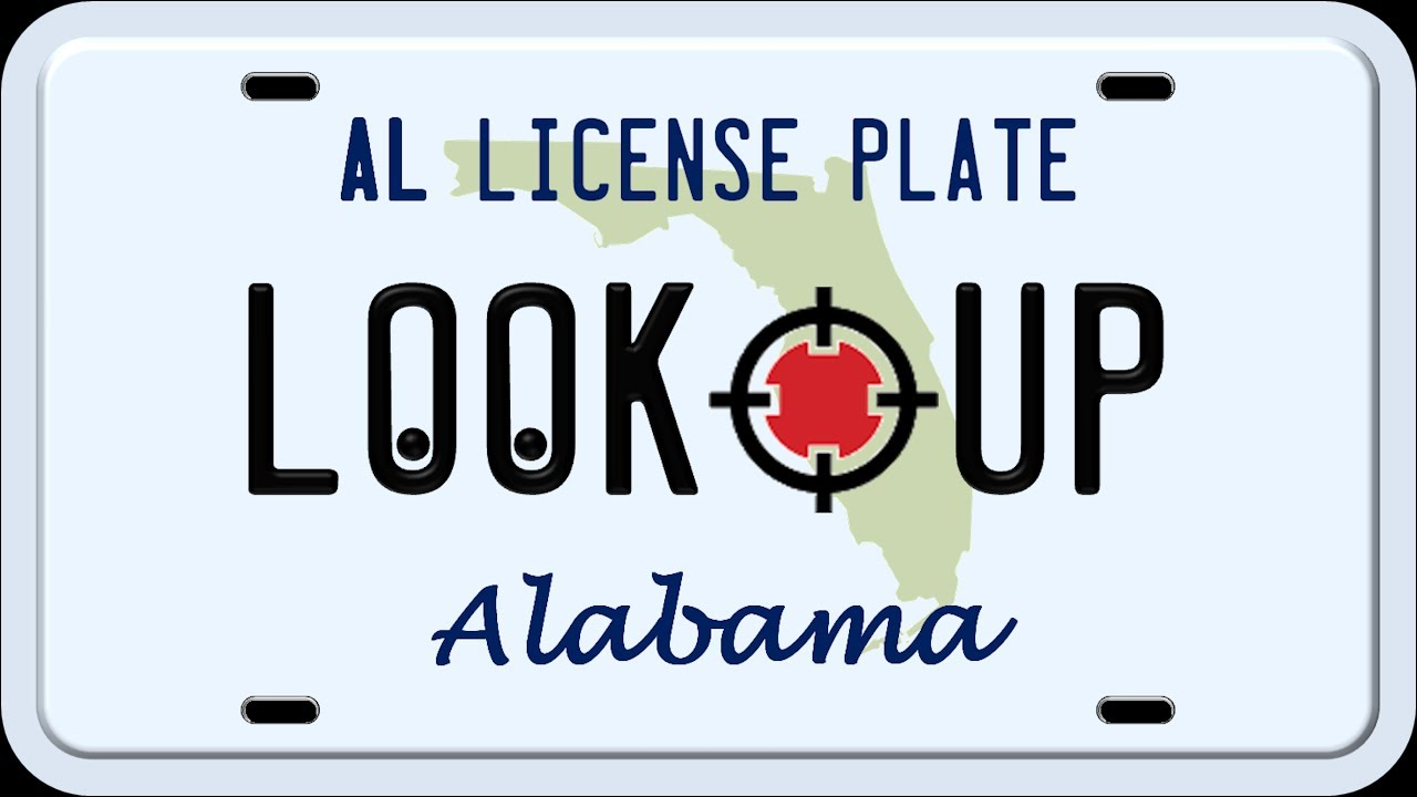 How to Search an Alabama License Plate - YouTube
