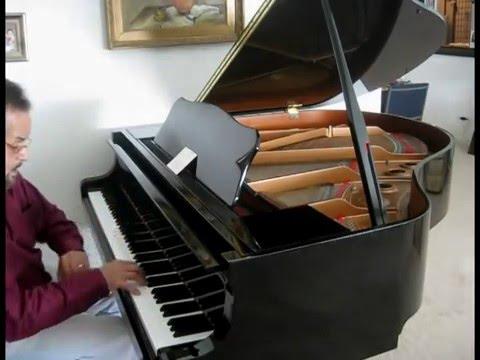 Yamaha Gb1 Grand Piano Demonstration Youtube