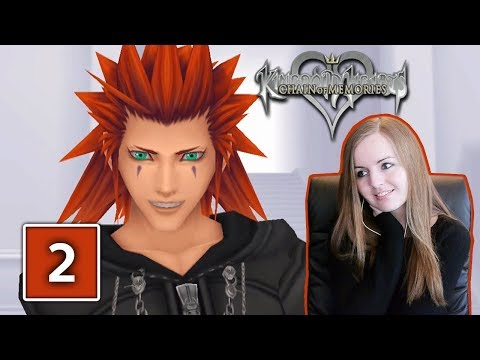 AXEL BOSS FIGHT | Kingdom Hearts Chain Of Memories Gameplay Walkthrough Part 2