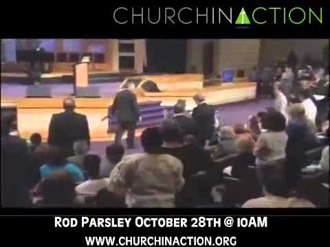 Pastor Rod Parsley at Church In Action October 28th @ 10AM!