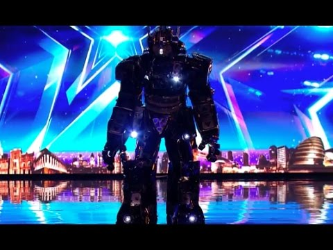 Super Cool Robot Singing Audition! | Ep 4 | Britain's Got Talent 2017
