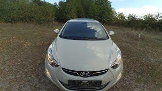 Обзор Hyundai Elantra MD 1.8L 2012 смотреть