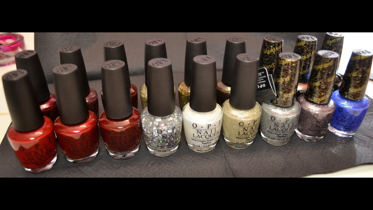 OPI - Winter/christmas collection 2013 \