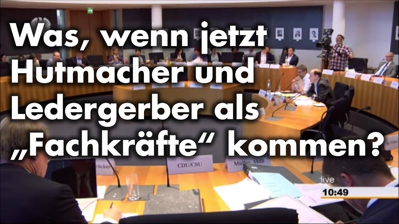 Anhörung im Innen-Ausschuss zum Fachkräfteeinwanderungs-/Arbeitsduldungsgesetz | Dr. Gottfried Curio