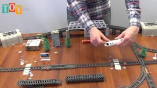 Игрушка ПауэрТрейнс (PowerTrains) Мега набор с 8 вагонами и домами(, 2014-05-21T06:56:02.000Z)
