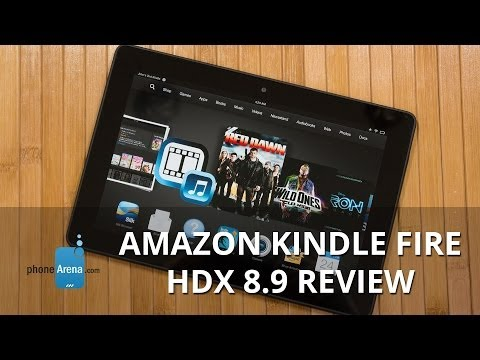 Amazon Kindle Fire HDX 8.9 Review
