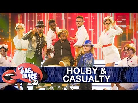 Holby City & Casualty cast perform 'Uptown Funk'  Let's Sing and Dance for Comic Relief