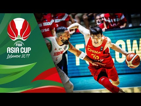 Download Youtube: Highlights from Lebanon v China in Slow Motion - Classification 5-6 - FIBA Asia Cup 2017