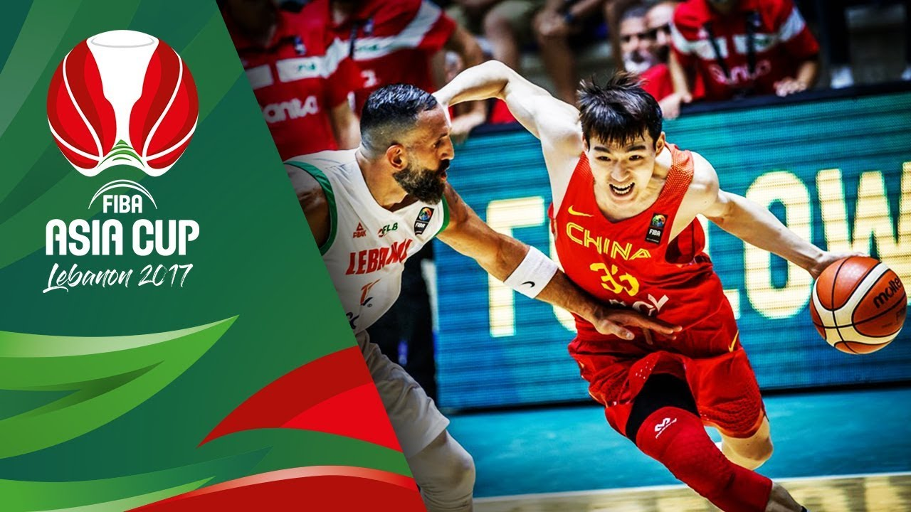 Highlights from Lebanon v China in Slow Motion - Classification 5-6 - FIBA Asia Cup 2017