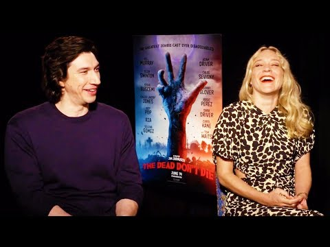 THE DEAD DON'T DIE Adam Driver Chloe Sevigny Interview