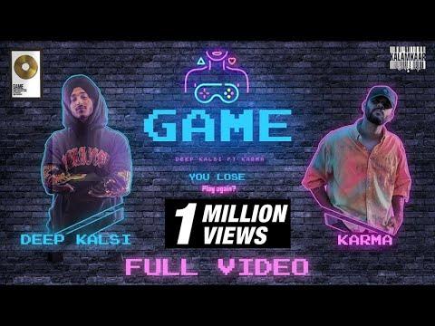 GAME (FULL VIDEO) | DEEP KALSI Ft. KARMA (NO DAYS OFF - EP) | KALAMKAAR