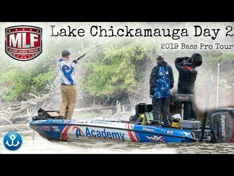Stage 4 Elimination Round Major League Fishing 2019 Lake Chickamauga