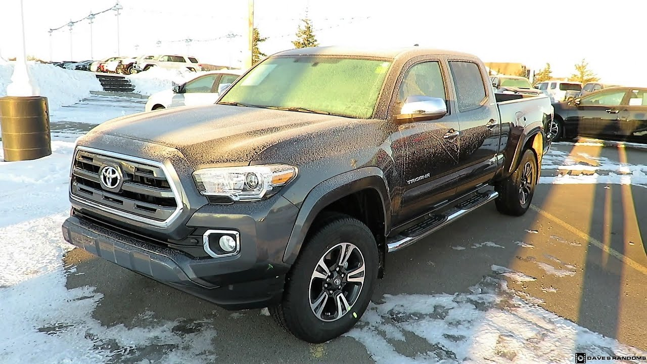 2017 toyota tacoma limited 4wd double cab. Black Bedroom Furniture Sets. Home Design Ideas
