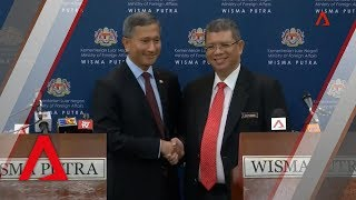 Singapore, Malaysia on 1962 water agreement