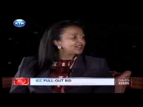 Jeff Koinange live with Amina Mohammed on ICC pull-out bid