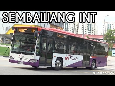 First Day - SBS Transit in Sembawang Bus Interchange - Service 117