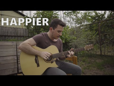 Ed Sheeran - Happier - Fingerstyle Guitar Cover